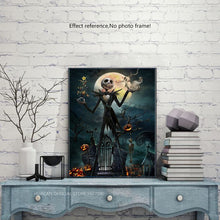 Load image into Gallery viewer, Halloween Nightmare Before Christmas Diamond Painting Kit