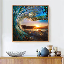Load image into Gallery viewer, Attractive Sunset View from the Wave