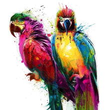 Load image into Gallery viewer, parrots diamond painting