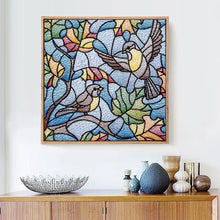 Load image into Gallery viewer, Birds with Special Shaped Diamond Painting
