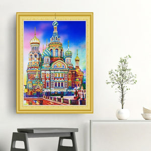 Saint Basil's Cathedral Special Diamond Art Kit