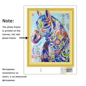 Special Colorful Horse Diamond Painting