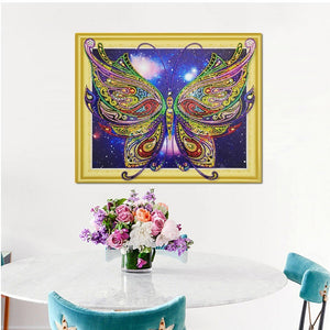 Stunning Butterfly Special Diamond Art