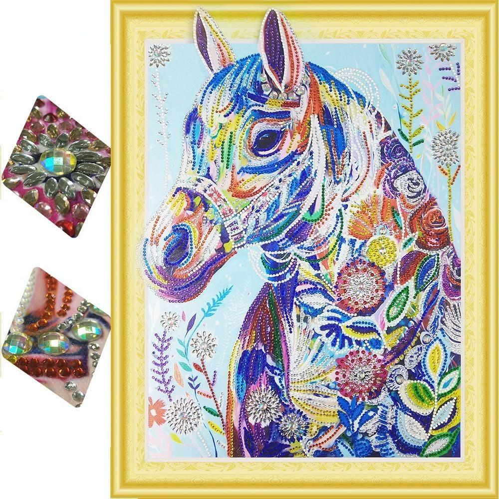horse diamond art kit