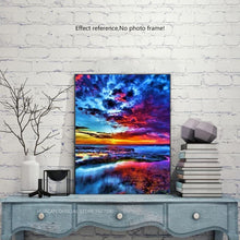 Load image into Gallery viewer, Most Beautiful Sunset Diamond Painting