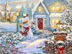 Beautiful Christmas Diamond Painting Art Kit