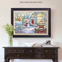 Load image into Gallery viewer, Beautiful Christmas Diamond Painting Art Kit
