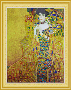 Fabulous Gustav Klimt Portrait Diamond Painting Kits
