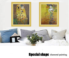 Load image into Gallery viewer, Fabulous Gustav Klimt Portrait Diamond Painting Kits