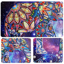 Load image into Gallery viewer, Elephant with Colorful Special Shaped