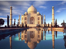 Load image into Gallery viewer, Stunning View of Taj Mahal Diamond Painting Kit