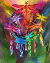 Load image into Gallery viewer, dream catcher diamond painting