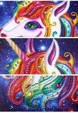 Load image into Gallery viewer, Adorable Little Unicorn Diamond Painting