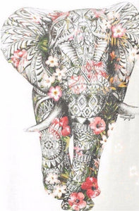 Floral Elephant Diamond Painting