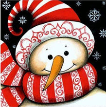 Load image into Gallery viewer, Cute Snowman Cartoon