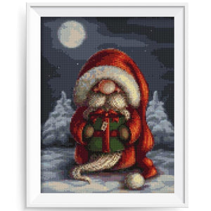 Cartoon Cute Santa on Christmas Diamond Painting Kits