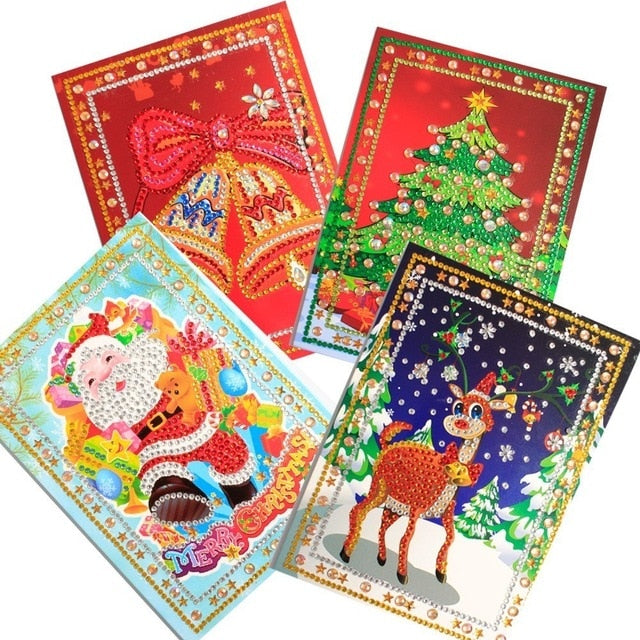 unique christmas greeting cards