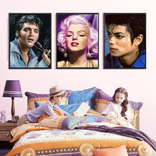 Load image into Gallery viewer, Charming Marilyn Monroe, Elvis & Michael Jackson Diamond Painting Kits