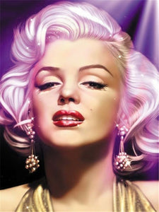 Charming Marilyn Monroe, Elvis & Michael Jackson Diamond Painting Kits