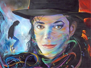 micheal jackson diamond painting