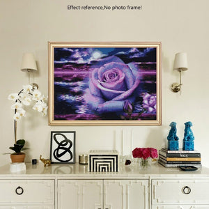 Romantic Purple Rose