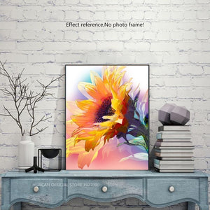 Huge Wonderful Sunflower Diamond Art