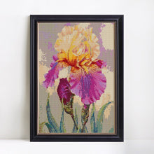 Load image into Gallery viewer, Phenomenal Iris Flower Painting