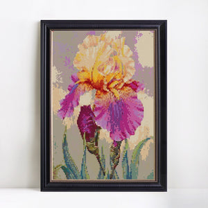 Phenomenal Iris Flower Painting