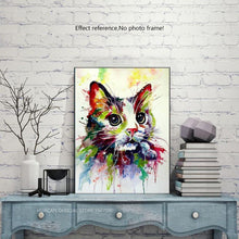 Load image into Gallery viewer, Cute Kitten Cat Diamond Painting Kit