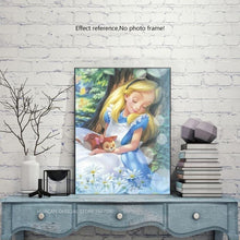 Load image into Gallery viewer, Beautiful Diamond Art Kit of Alice in Wonderland Disney