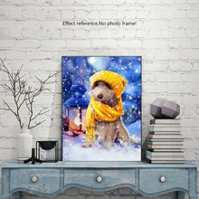 Load image into Gallery viewer, Dog in the Snow