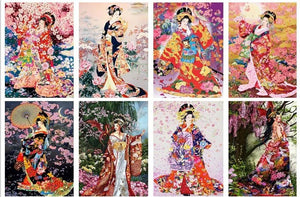 japanese diamond paintings