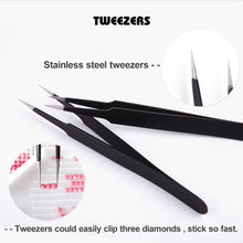 Load image into Gallery viewer, Stainless Steel Cross Tweezers