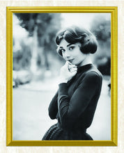 Load image into Gallery viewer, Audrey Hepburn in Short hair