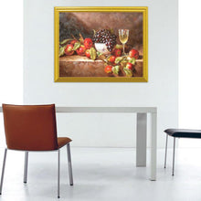 Load image into Gallery viewer, Wine Glass & Fruits Diamond Art Kit