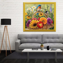 Load image into Gallery viewer, Birds & Flowers Basket