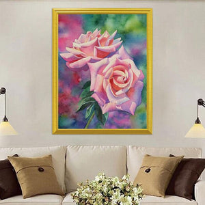 Charming Roses Painting Kit