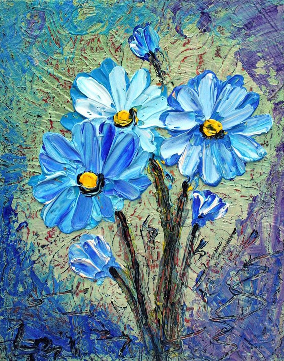 Flowers Diamond Painting Kit