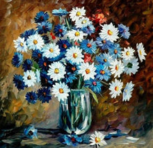 Load image into Gallery viewer, Flowers 3D Diamond Art Kit
