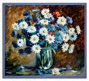 Flowers in a Glass Vase Painting Kit