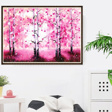Load image into Gallery viewer, Stunning Trees Diamond Painting Kit