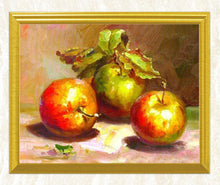 Load image into Gallery viewer, Apples Still Life Diamond Art Kit