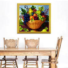 Load image into Gallery viewer, Appealing Fruit Basket - Diamond Art Kit