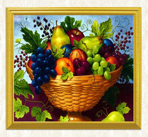 Appealing Fruit Basket - Diamond Art Kit