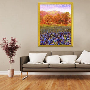 Autumn Trees Diamond Art