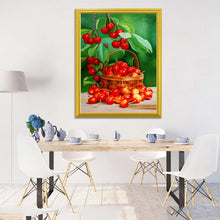 Load image into Gallery viewer, Basket full of Cherries
