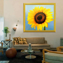 Load image into Gallery viewer, Sunflower Close up Diamond Art Kit