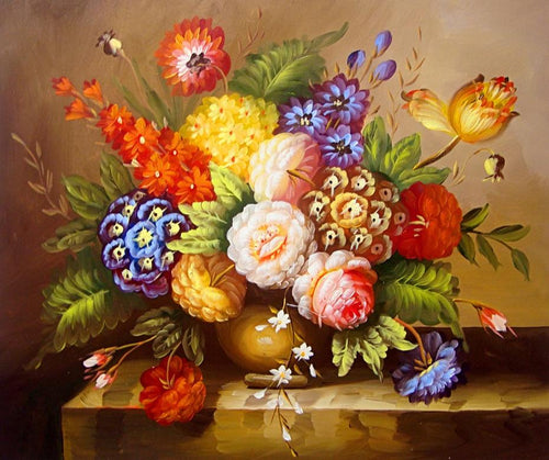 Flowers Art 3D Diamond Painting