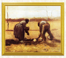 Load image into Gallery viewer, Peasant Woman Planting Potatoes