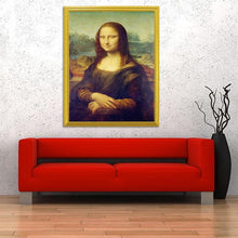 Load image into Gallery viewer, Mona Lisa's Smile - Portrait DIY Painting Kit